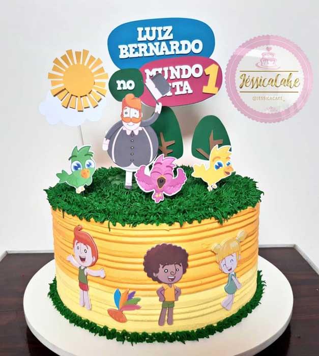 38 festa infantil Mundo Bita