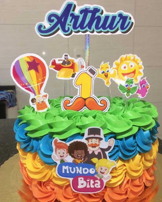 40 festa infantil Mundo Bita