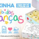 Caixa Dia das Criancas para Doces