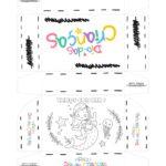 Caixa Dia das Criancas para colorir Sereia