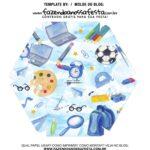 Caixa Explosiva Dia dos Professores Azul 6