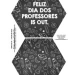 Caixa Explosiva Dia dos Professores Chalkboard 1