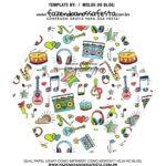 Caixa Explosiva Dia dos Professores Musica 8