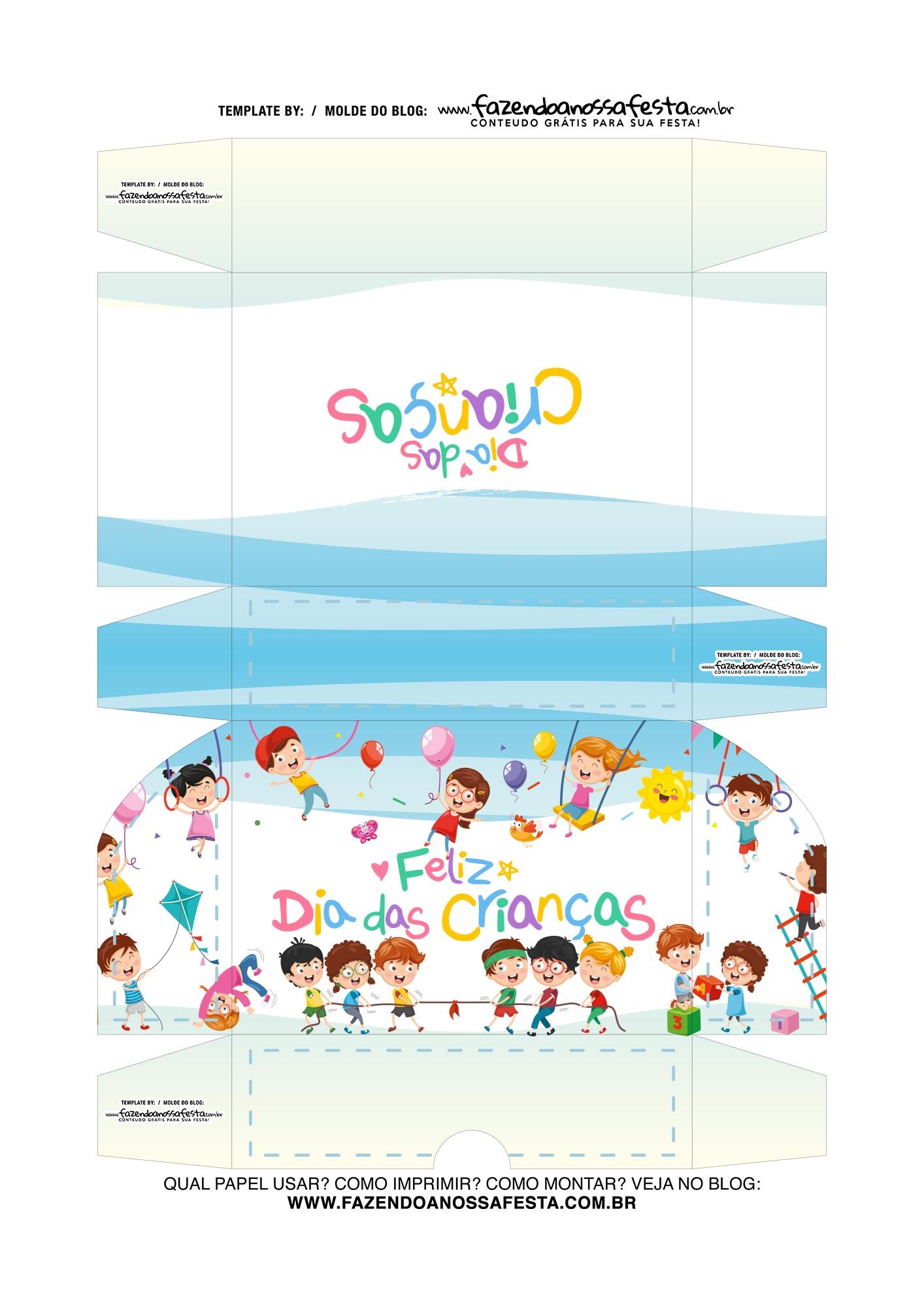 Caixa de Doces Dia das Criancas 3