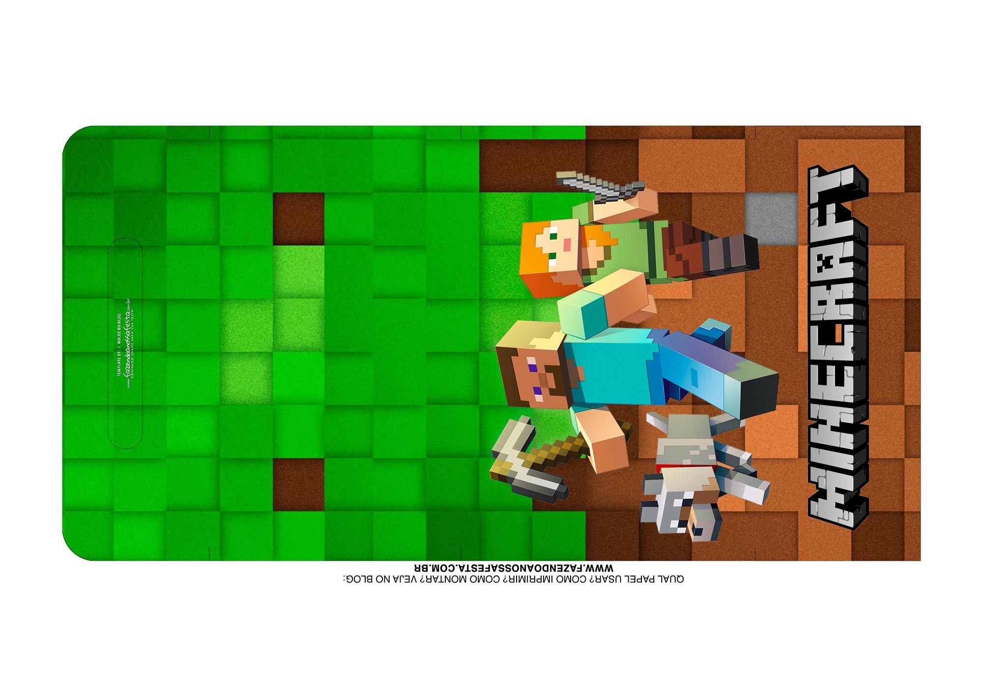 Kit Cinema Minecraft Alca 1