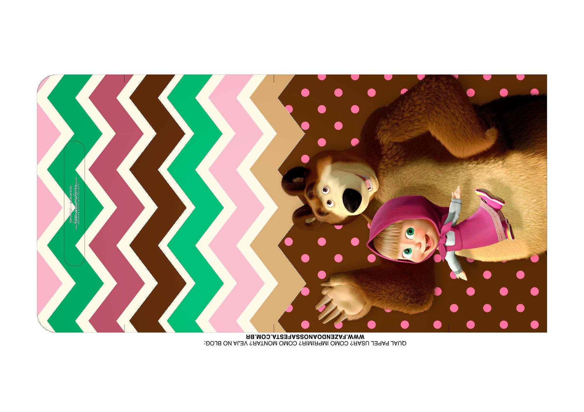 Kit Cinema na Caixa Masha e o Urso Alca 1