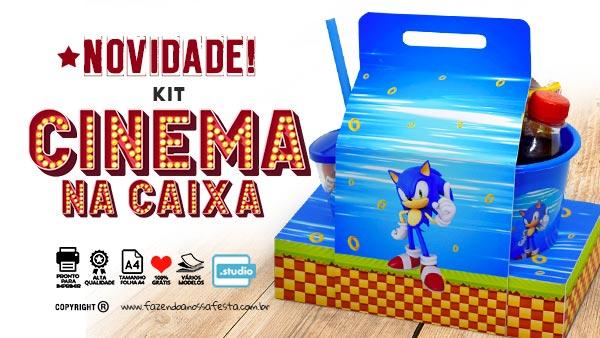 Kit Cinema na Caixa molde para imprimir