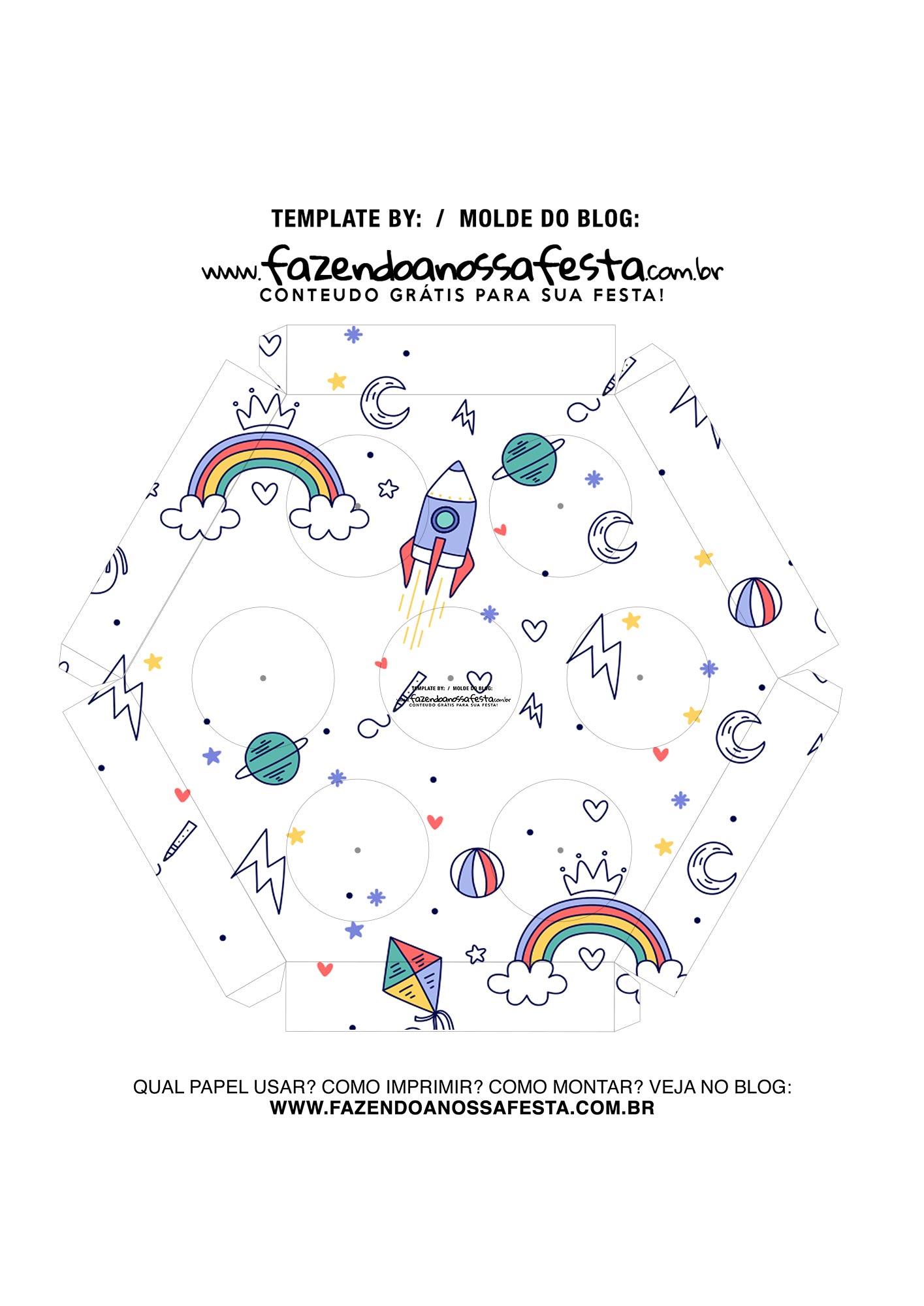 Caixa Explosiva Dia das Criancas Brinquedos 6