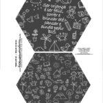 Caixa Explosiva Dia das Criancas Chalkboard 1