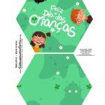Caixa Explosiva Dia das Criancas Verde 1