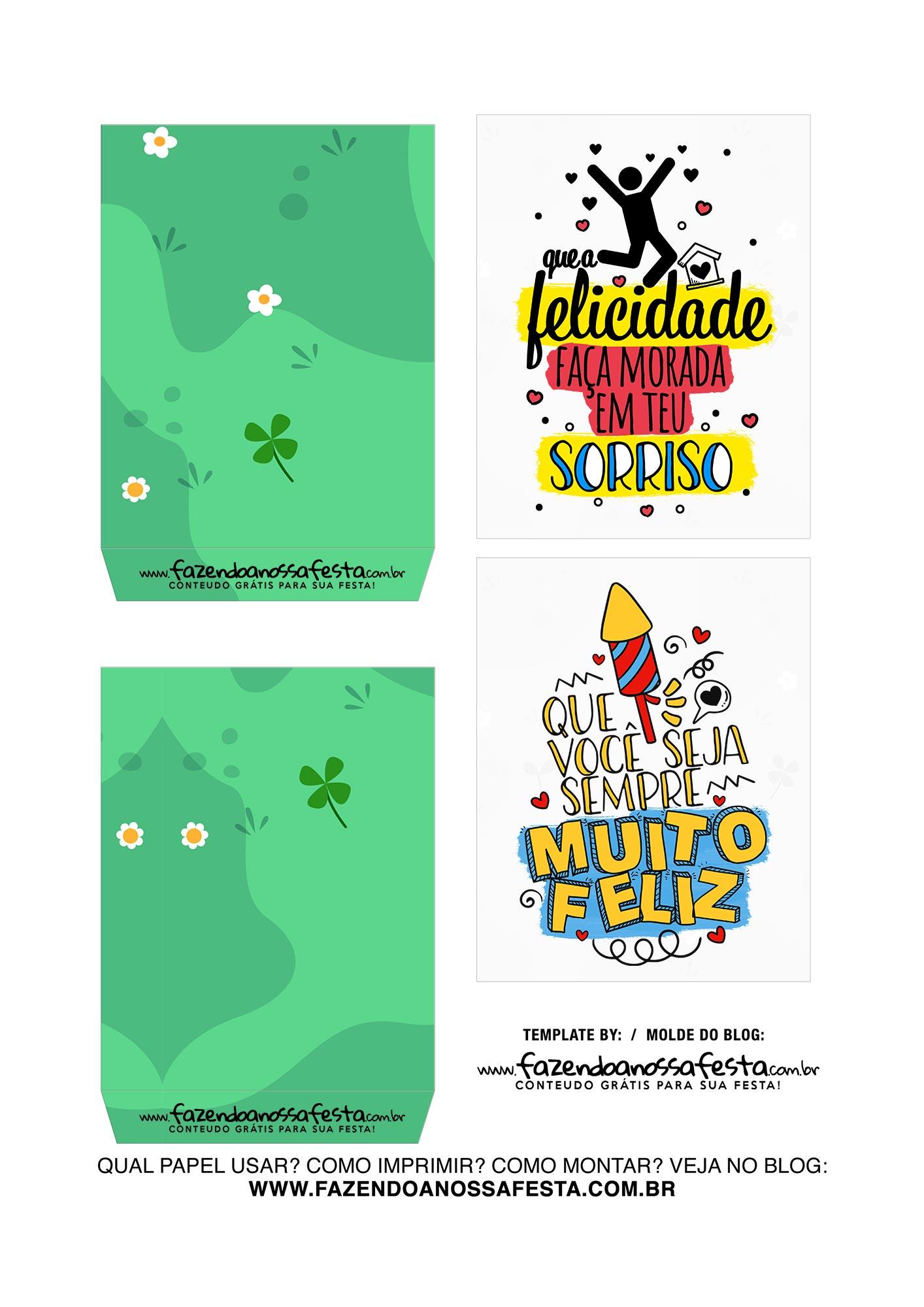 Caixa Explosiva Dia das Criancas Verde 3