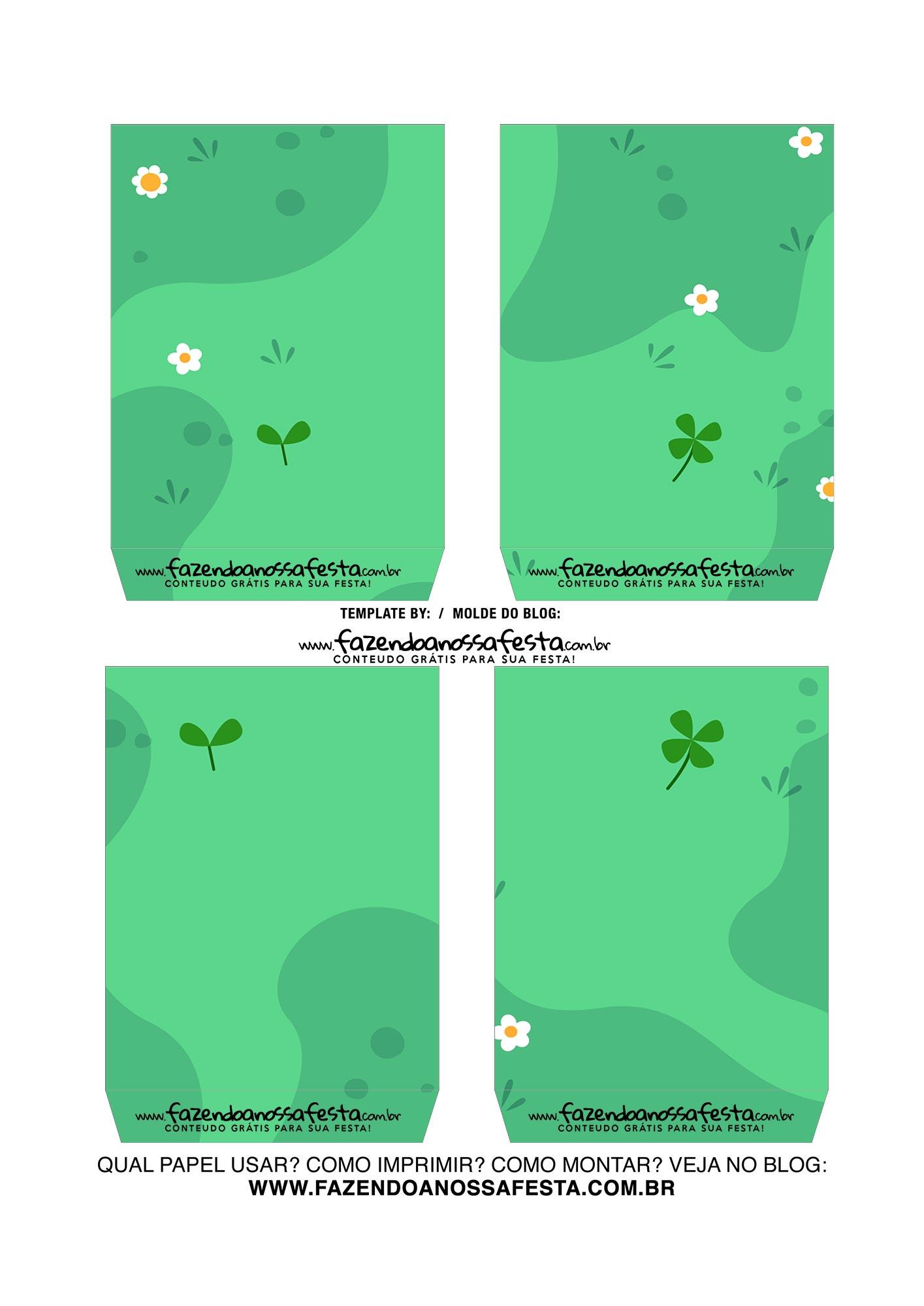 Caixa Explosiva Dia das Criancas Verde 4