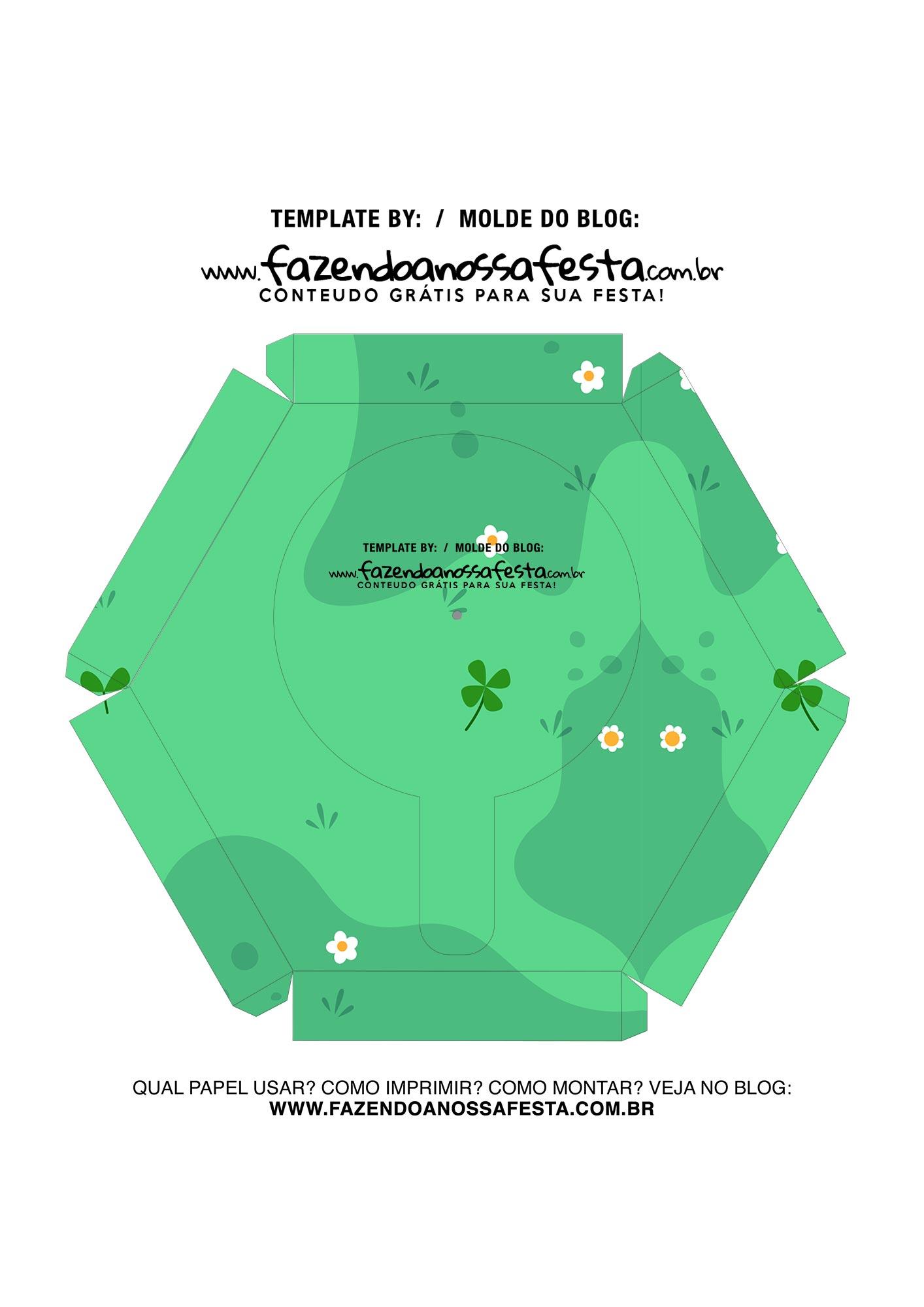 Caixa Explosiva Dia das Criancas Verde 7