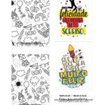 Caixa Explosiva Dia das Criancas para colorir 3