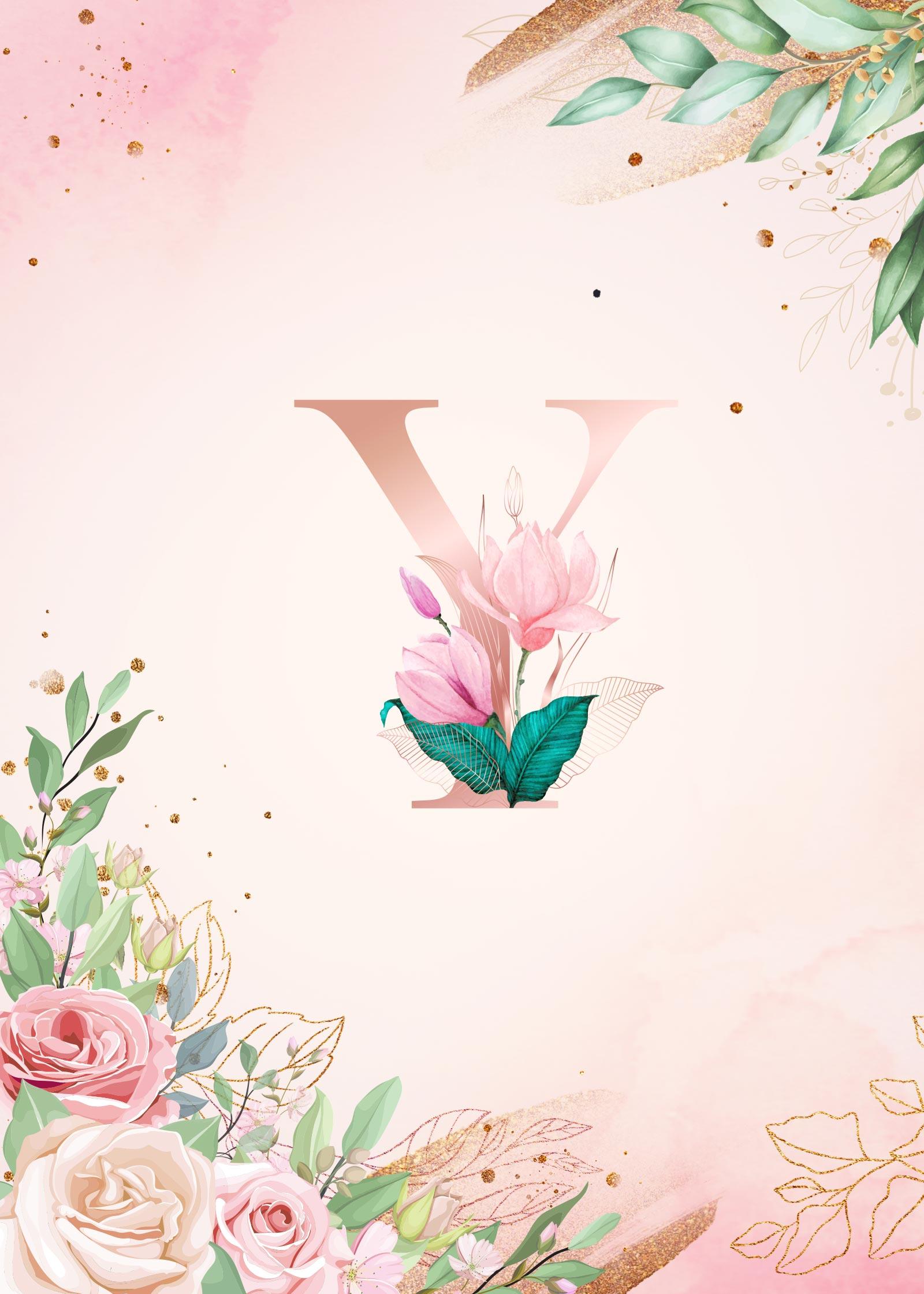 Capa Planner Floral Inicial Y