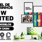 Kit Quadrinhos Festa Now United