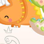 Painel Dinossauro Baby 10