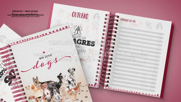 Planner 2021 Dogs