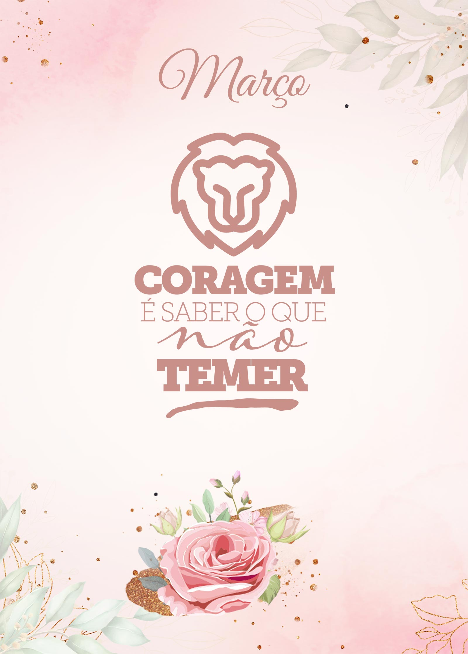 Planner 2021 Floral com Inicial Marco Capa