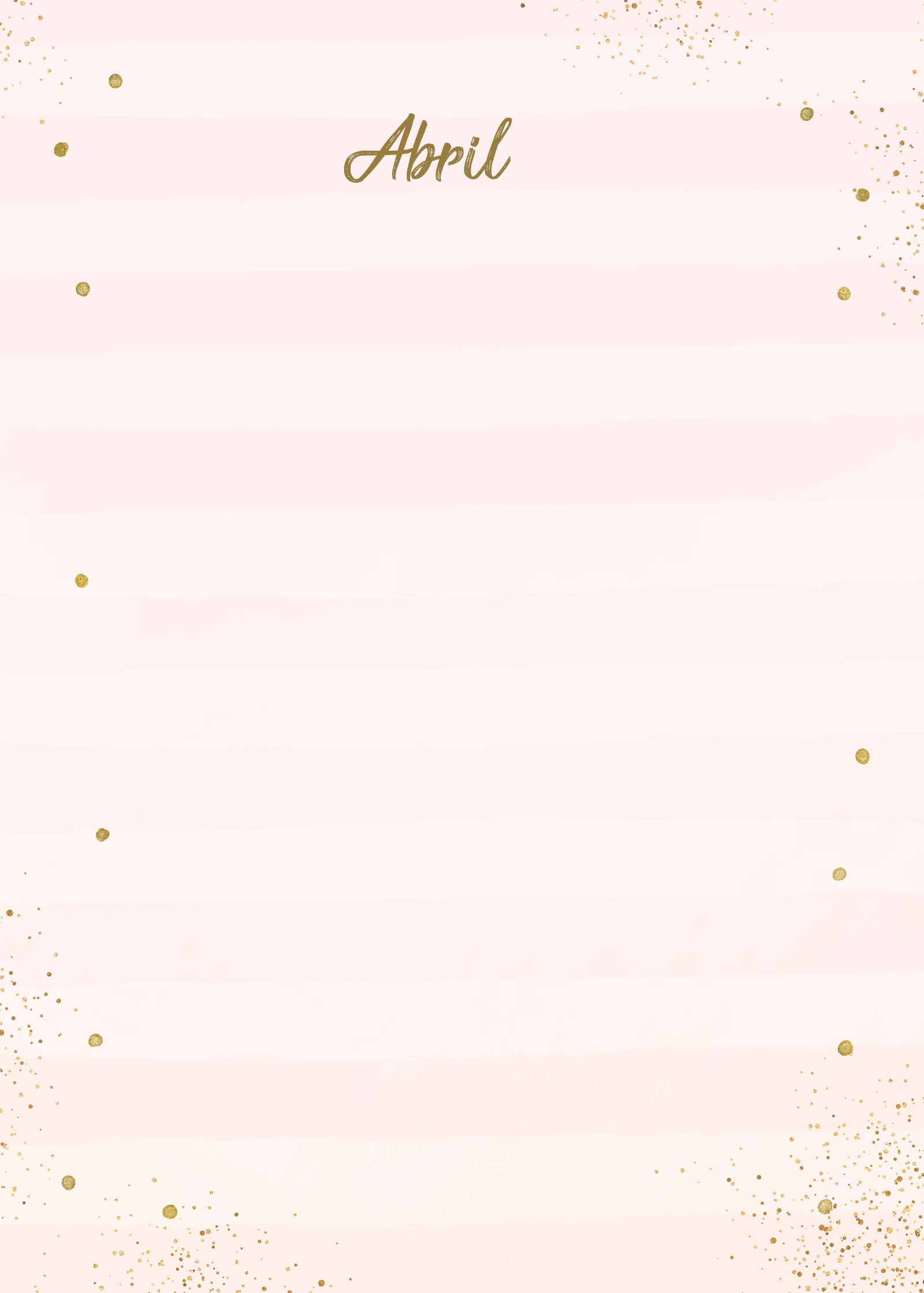Planner 2021 Rose Gold Abril Capa