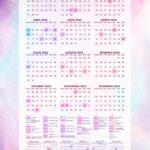 Planner Colorido Calendario 2023