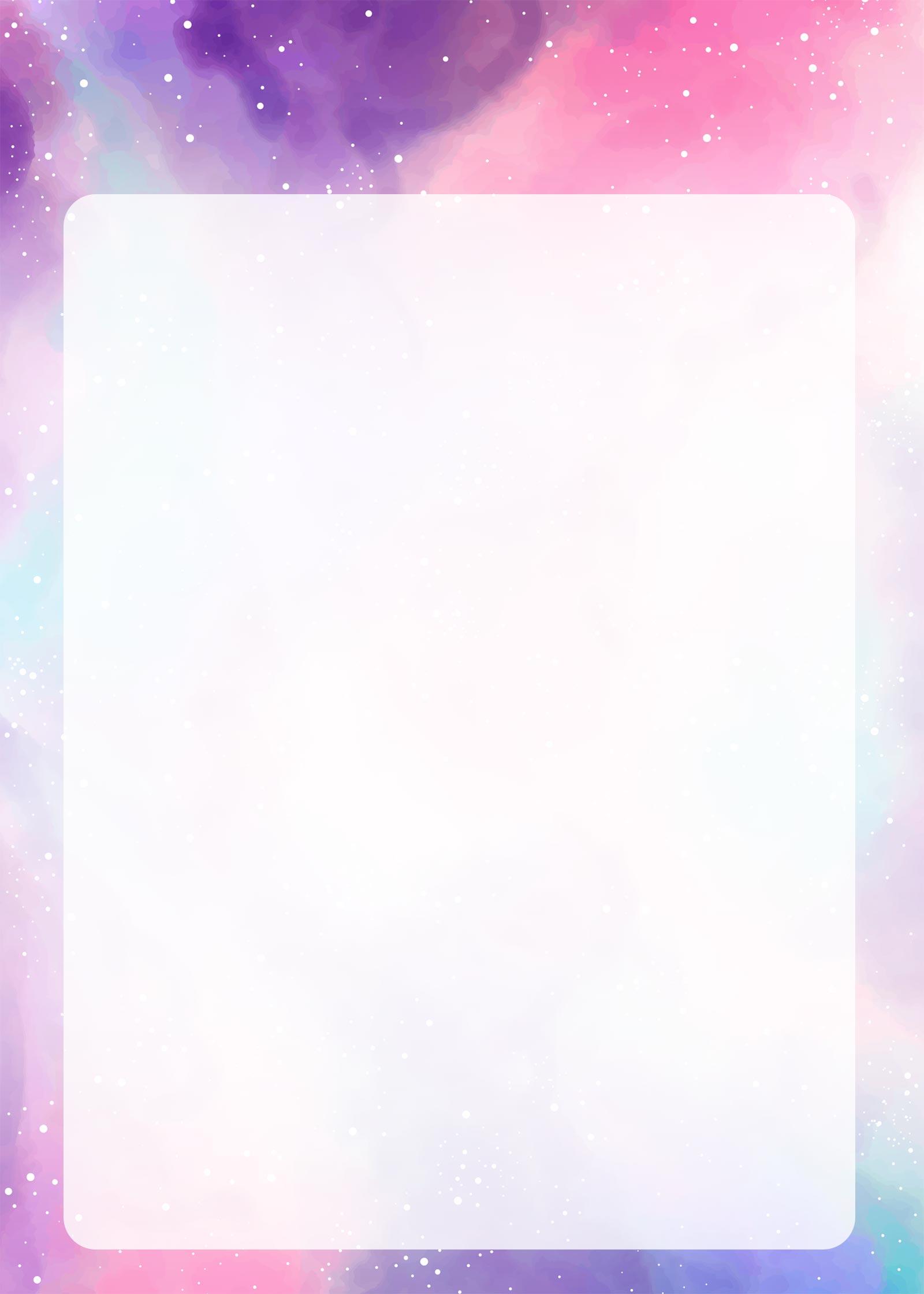 Planner Colorido Molde em Branco