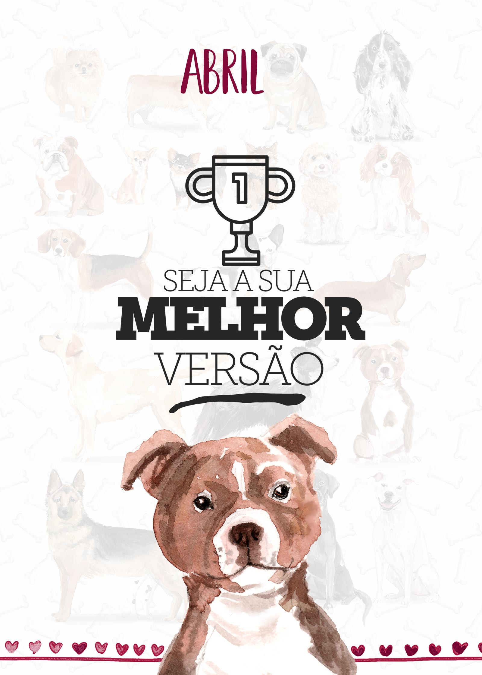 Planner Dogs Abril Capa