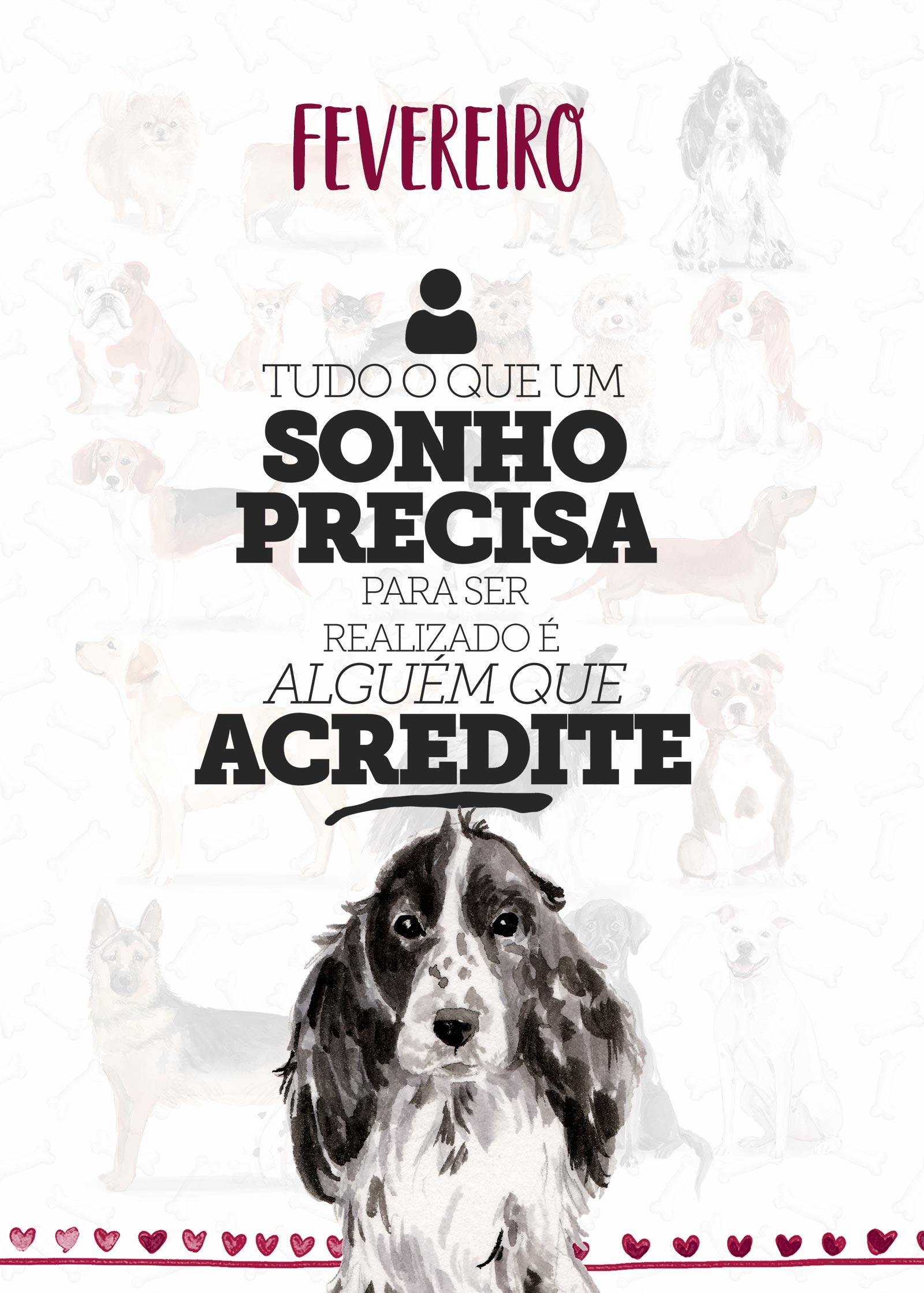 Planner Dogs Fevereiro Capa