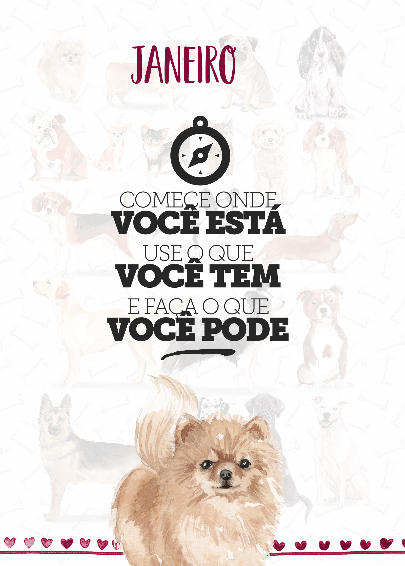 Planner Dogs Janeiro Capa