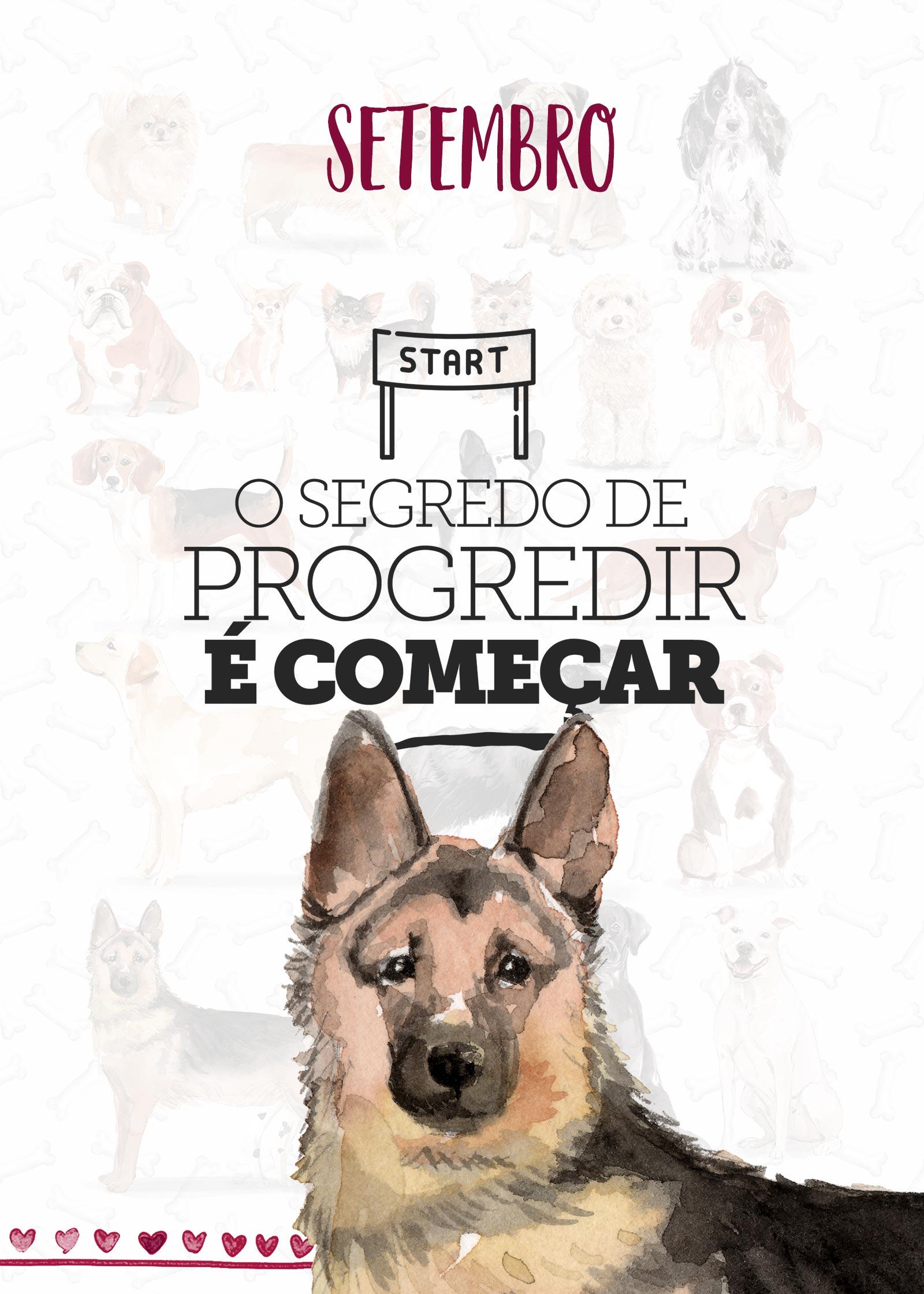 Planner Dogs Setembro Capa