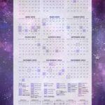 Planner Galaxia Lilas Calendario 2022