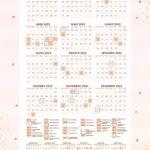 Planner Rose Gold Calendario 2022
