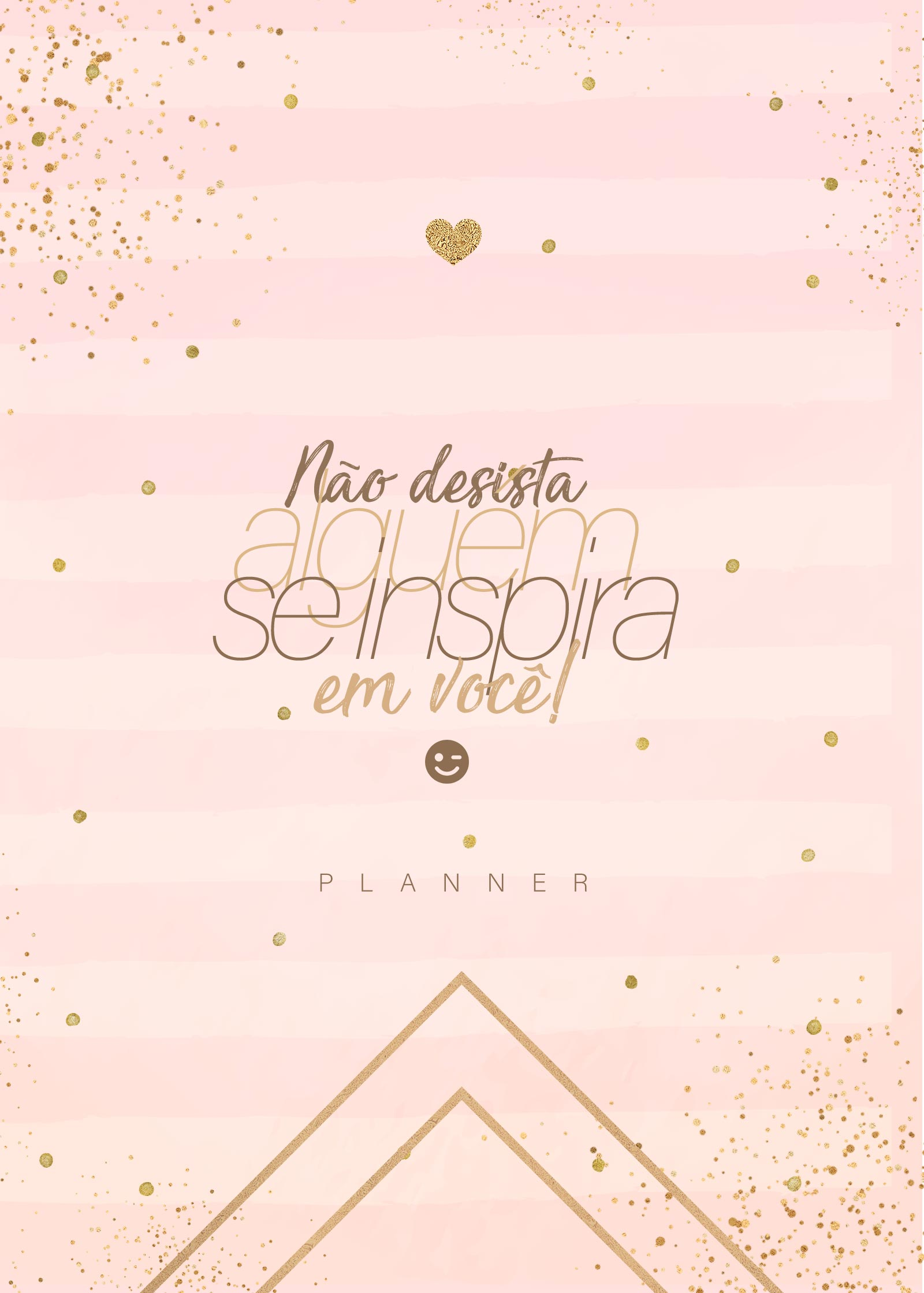 Planner Rose Gold Capa