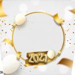 Adesivo Balde de Pipoca Kit Festa Ano Novo 2021