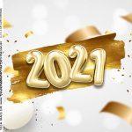 Adesivo Caixa Acrilica Kit Festa Ano Novo 2021