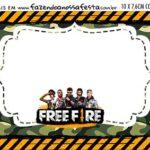 Aviso para Comida Free Fire