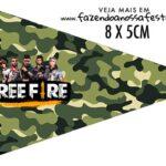 Bandeirinha Sanduiche para imprimir Free Fire