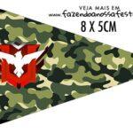 Bandeirinha Sanduiche personalizado Free Fire