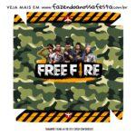 Caixa Bombom Tampa Free Fire