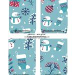 Caixa Explosiva Natal Boneco de Neve 5
