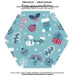 Caixa Explosiva Natal Boneco de Neve 6