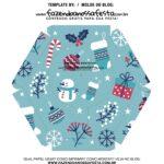 Caixa Explosiva Natal Boneco de Neve 7