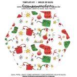 Caixa Explosiva Natal Sapatinho e presentes 6