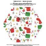Caixa Explosiva Natal Sapatinho e presentes 7