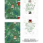 Caixa Explosiva Natal Verde 3