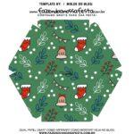 Caixa Explosiva Natal Verde 6
