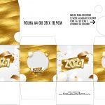 Caixa Kit Colorir Ano Novo 2021