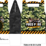 Caixa Maleta Surpresa Free Fire
