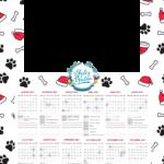 Calendario 2021 Personalizado com foto de Natal 4