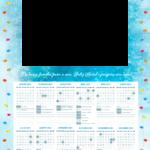 Calendario 2021 Personalizado com foto de Natal 7